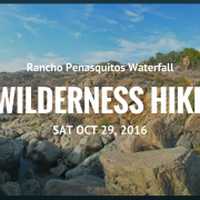 Outreach Event: Rancho Penasquitos Waterfall Wilderness Hike
