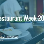 Outreach Event: Restaurant Week 2017