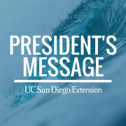 President's Message – January Edition