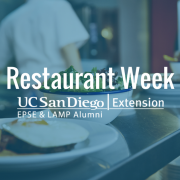 Outreach Event: Restaurant Week 2018